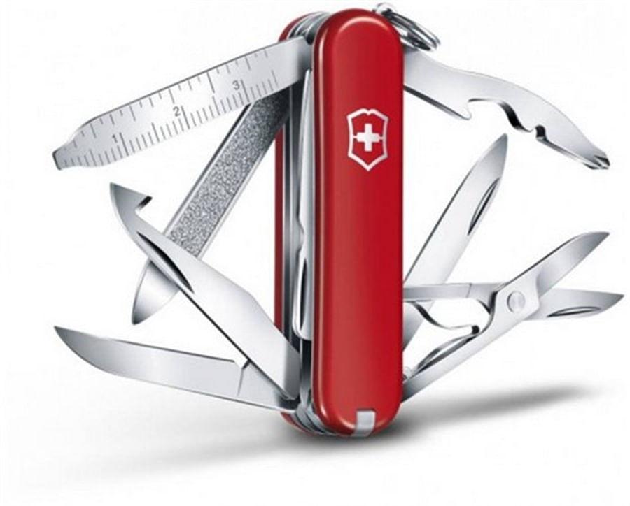 Canivete Midnite MiniChamp Vermelho