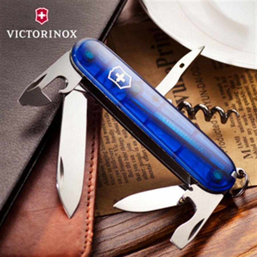 Canivete Spartan Azul Translúcido