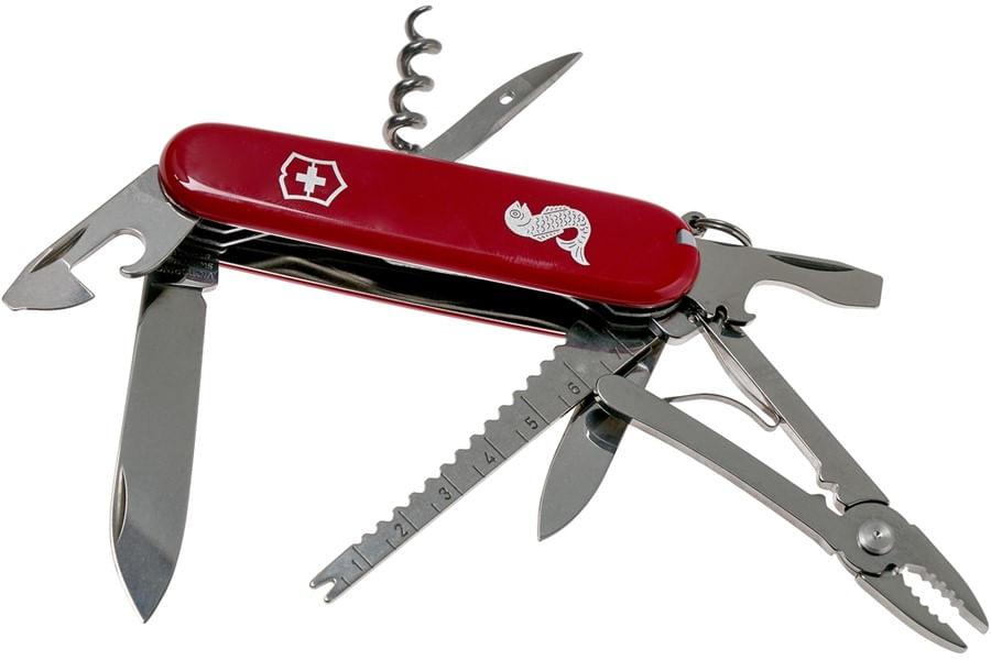Canivete Angler Vermelho