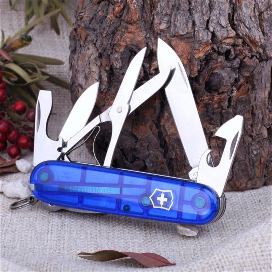 Canivete Climber Azul Translúcido