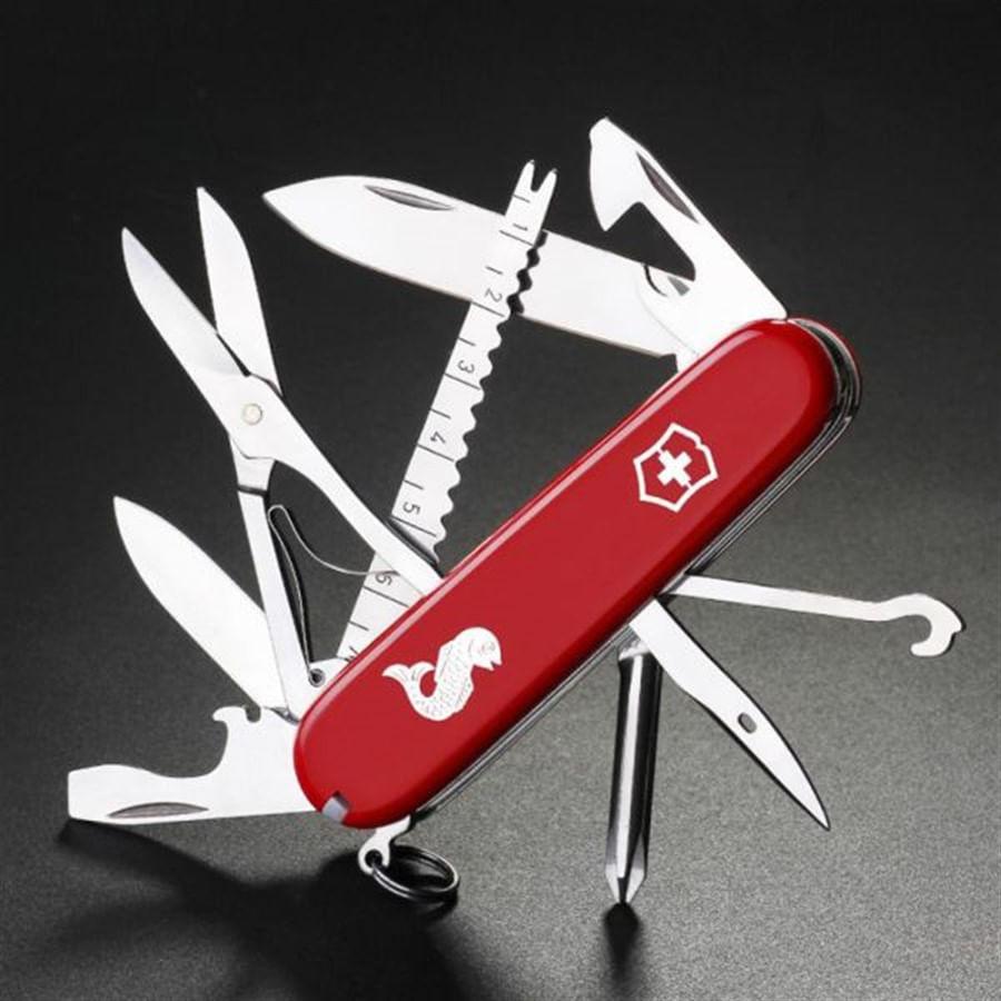 Canivete Fisherman Vermelho
