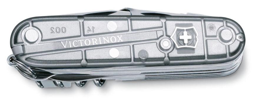 Canivete SwissChamp Prata Translúcido