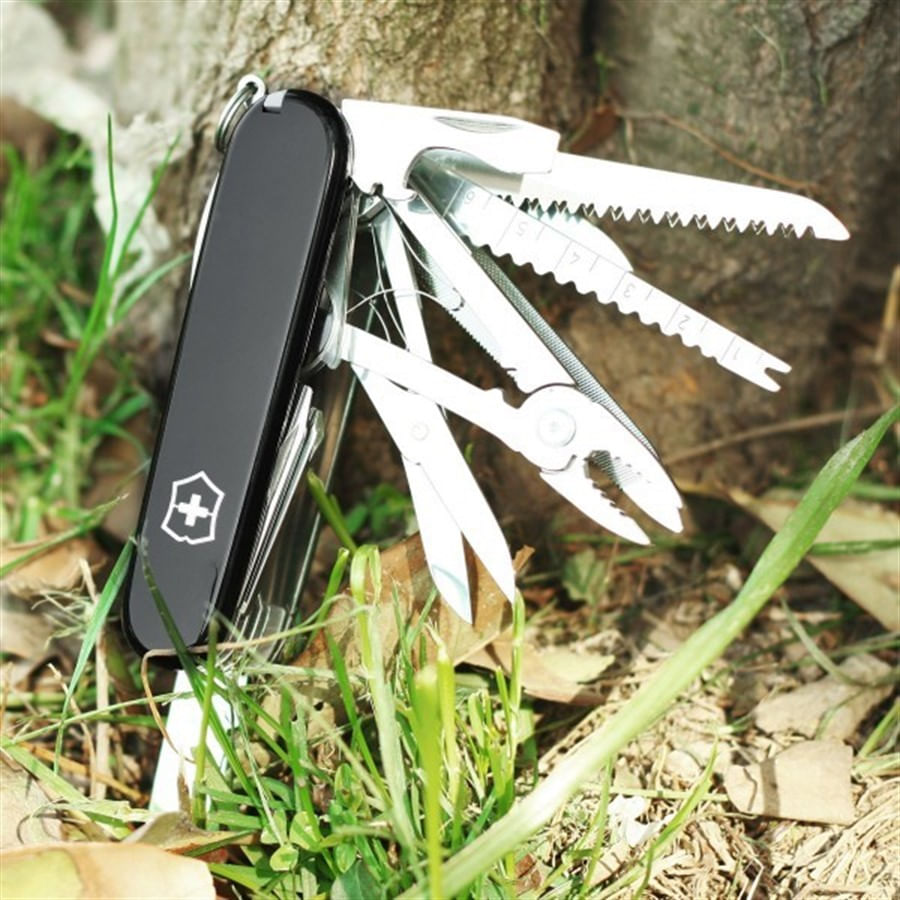 Canivete SwissChamp Preto