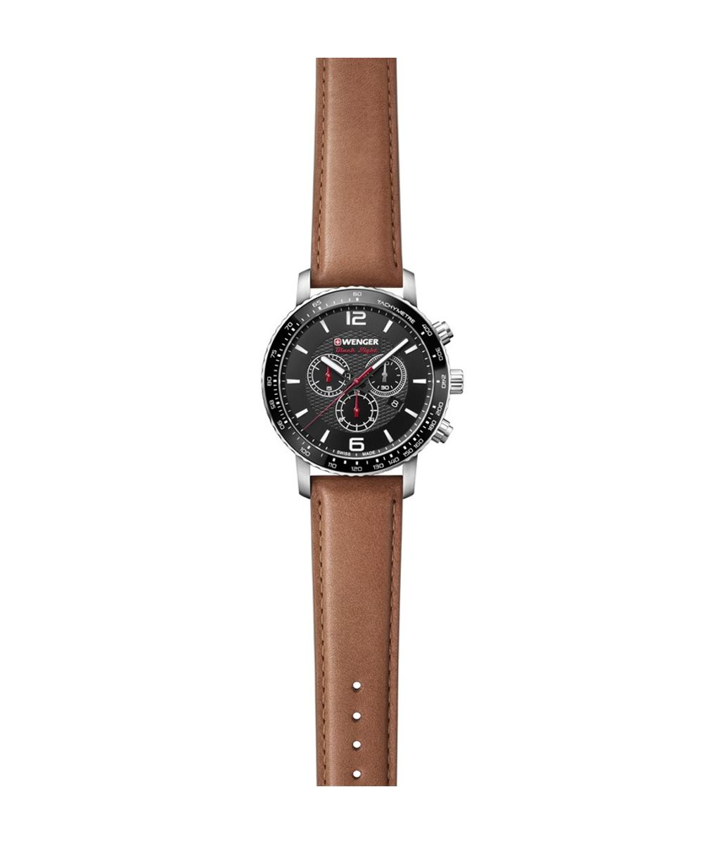 Relógio Masculino Wenger RoadSter Chrono Marrom