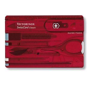SwissCard Classic Vermelho Translucido