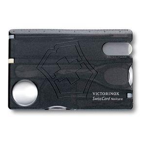SwissCard Nailcare Preto Translúcido