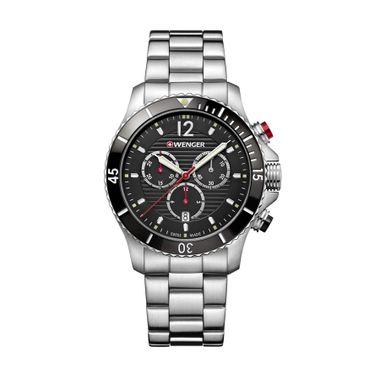 Relógio Masculino Wenger Seaforce Chrono Preto