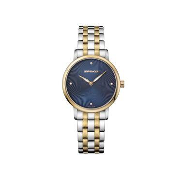 Relógio Feminino Wenger Urban Donnissima Dourado e Prata