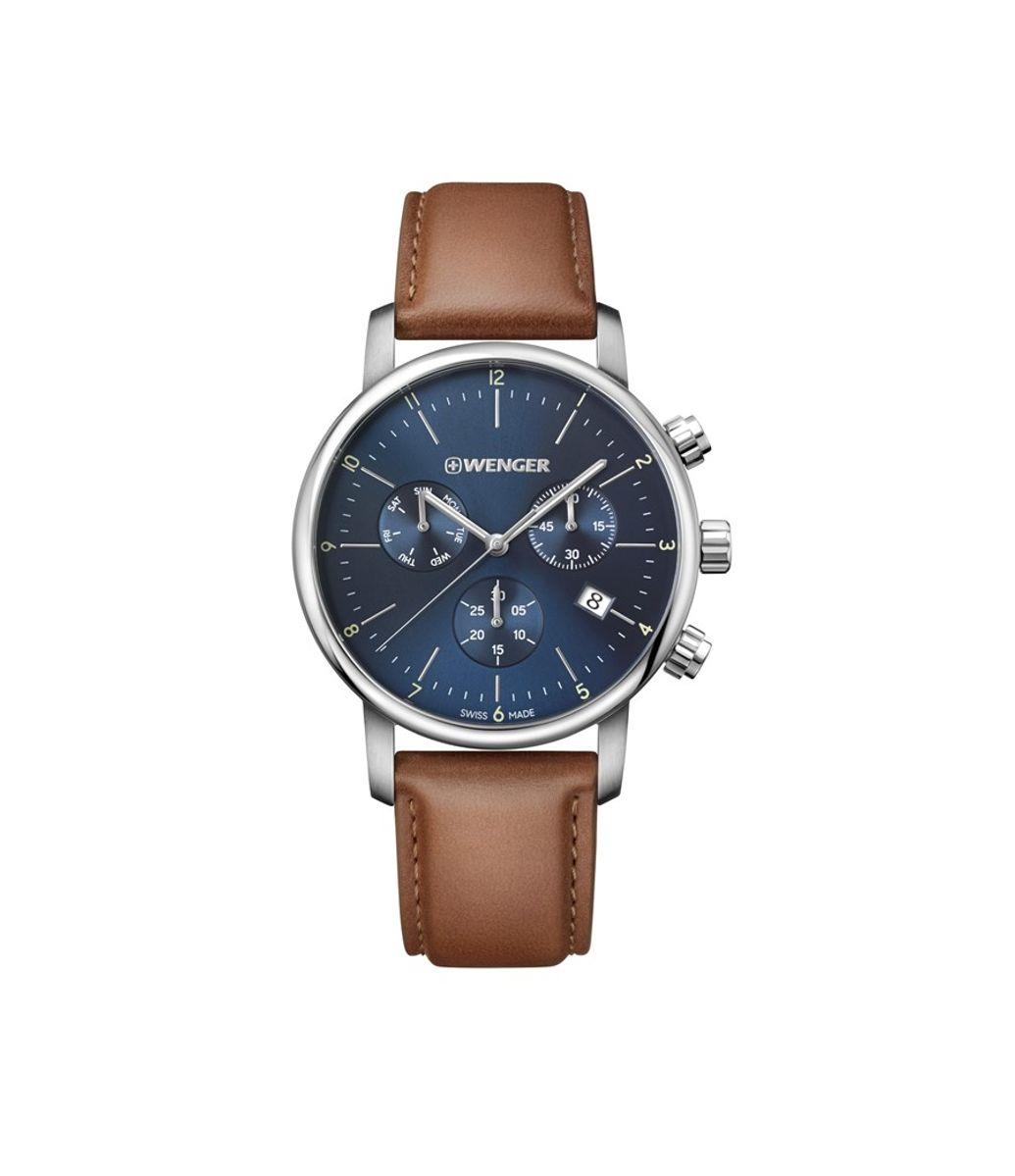 Relógio Masculino Wenger Urban Classic Chrono Azul