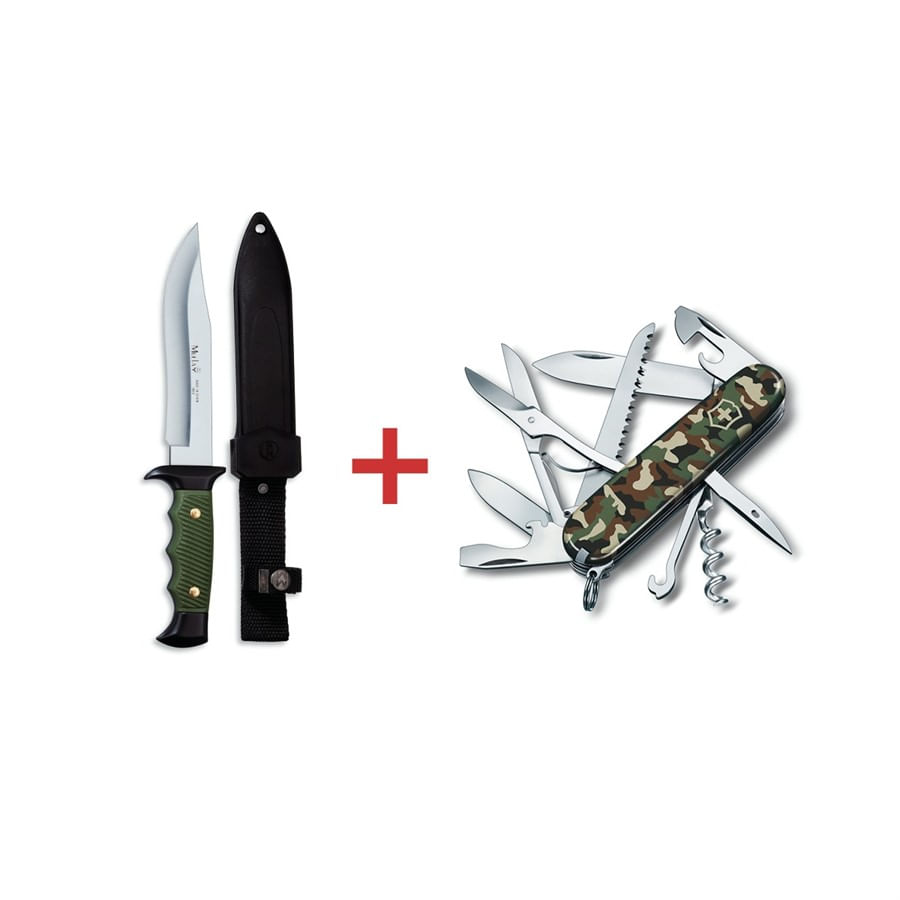 Canivete Huntsman & Faca Muela