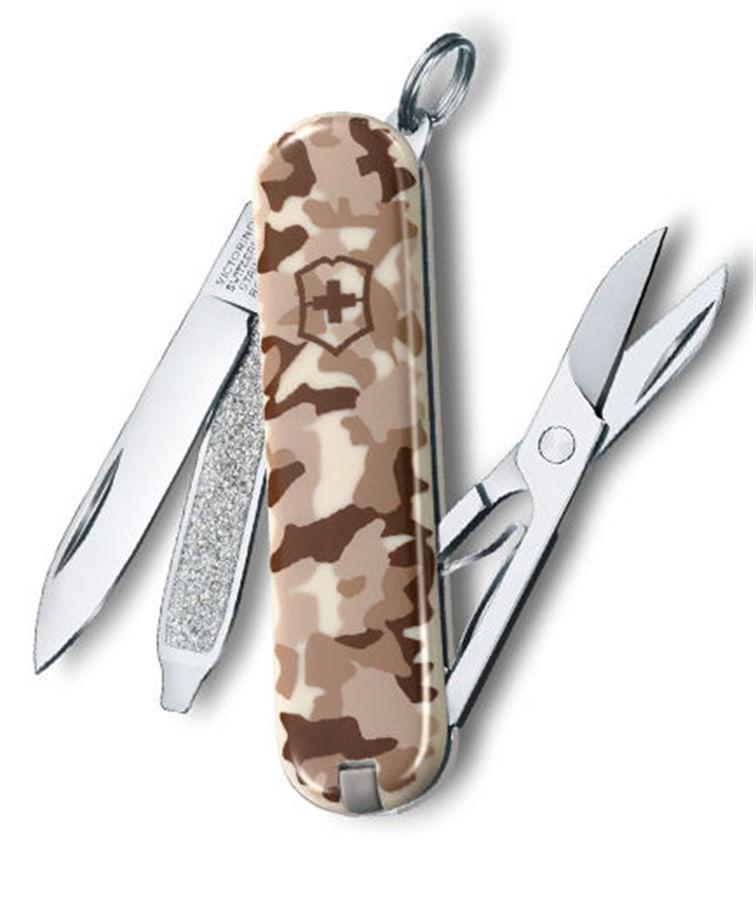 Canivete Classic SD Camouflage Desert