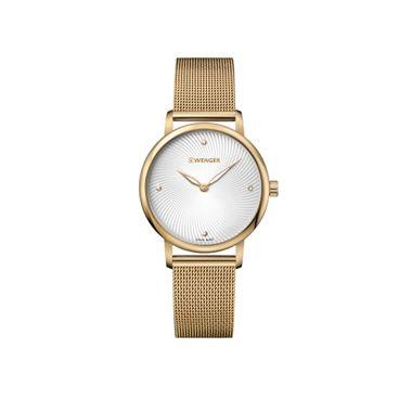 Relógio Feminino Wenger Urban Donnissima Dourado