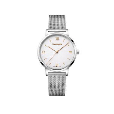 Relógio Feminino Wenger Metropolitan Donnissima Prata
