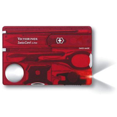 Swiss Card Lite Vermelho Translúcido
