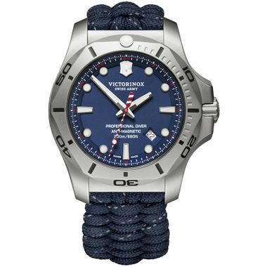 Relógio Masculino I.N.O.X. Professional Diver Azul
