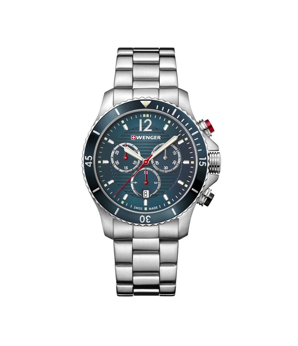 Relógio Masculino Wenger Seaforce Chrono Azul
