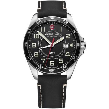 Relógio Masculino Fieldforce GMT Preto