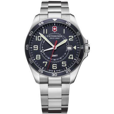 Relógio Masculino Fieldforce GMT Azul