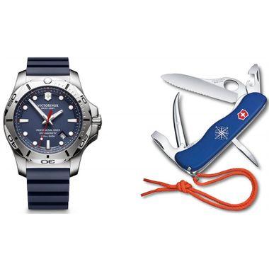 Combo I.N.O.X. Professional Diver + Canivete Skipper Pro Azul