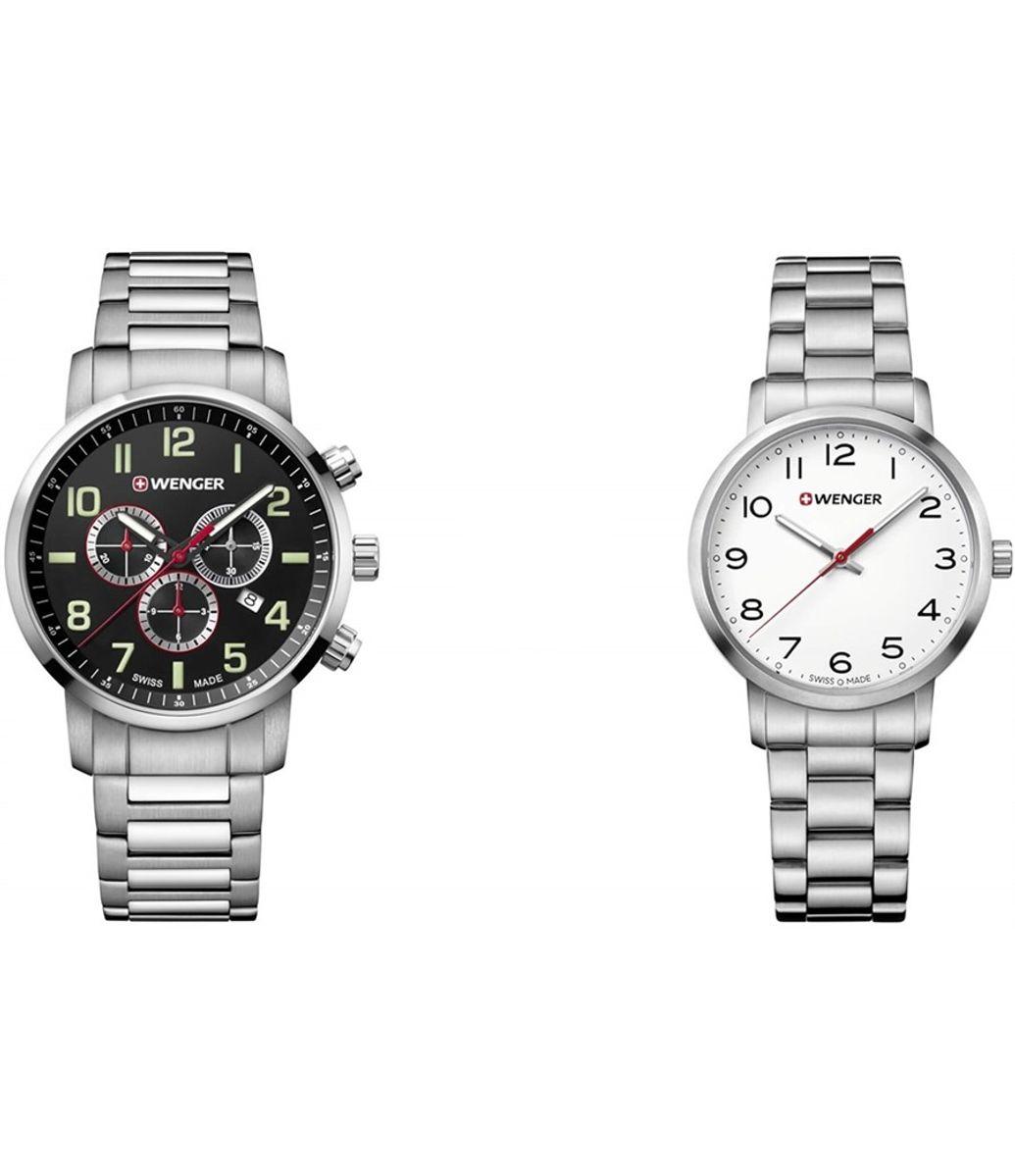 Combo Relógio Masculino Wenger Attitude Chrono + Relógio Wenger Avenue