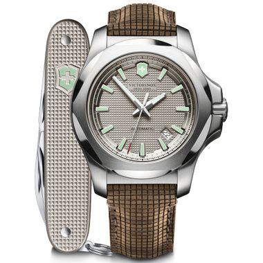 Relógio Masculino I.N.O.X. Mechanical Cinza