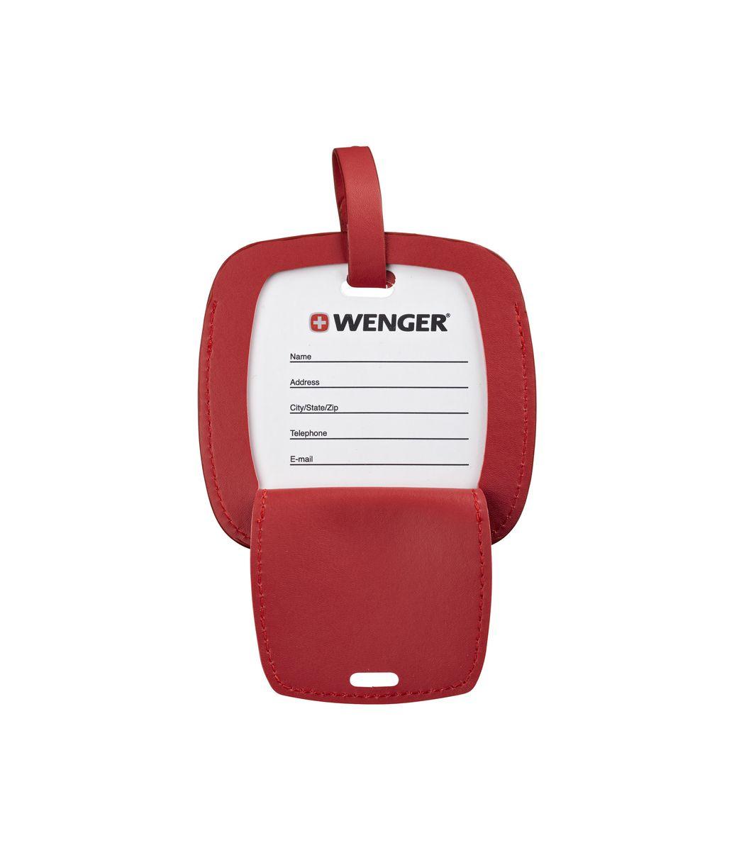 Etiqueta de Identificação para bagagem Jumbo Wenger - Vermelha