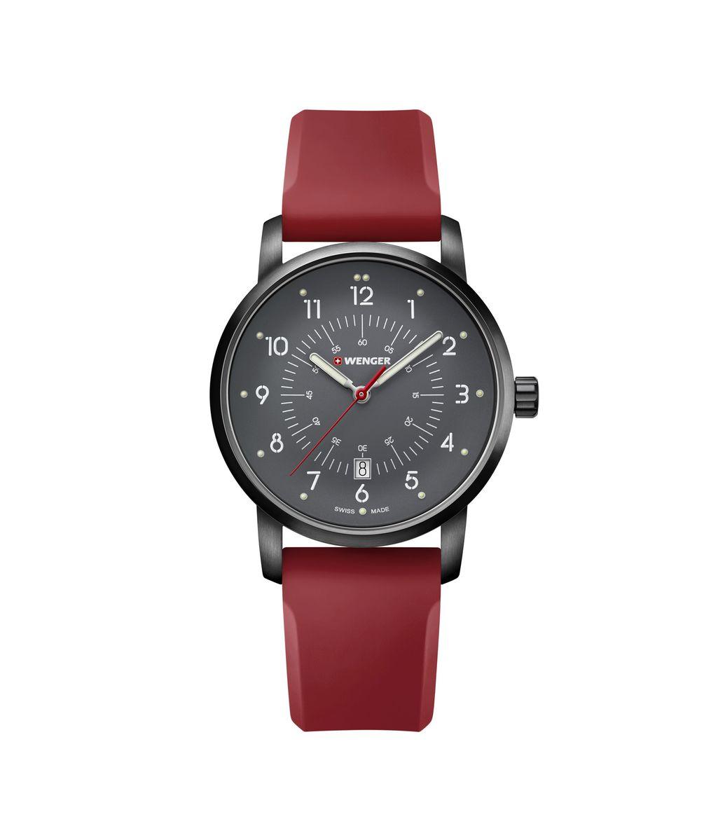 Relógio Masculino Wenger Avenue Vermelho
