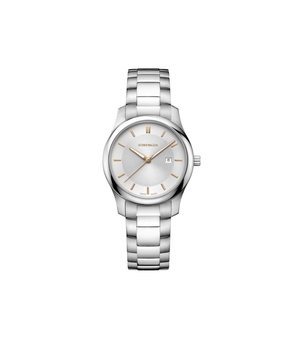 Relógio Masculino Wenger City Classic Branco